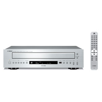 Yamaha CD-C600 Black, Silver