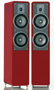 Tangent Clarity 8, high gloss black, red