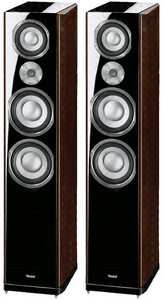 Magnat Quantum 1009, piano lacquer black/dark walnut
